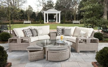 Turn to Parr's for affordable outdoor wicker furniture.