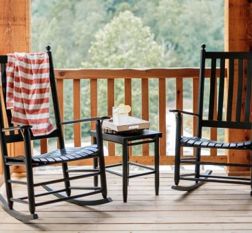 Turn to Parr's for affordable wooden rockers.