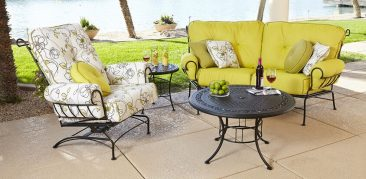 Atalanta's source for affordable wrought iron outdoor furniture.