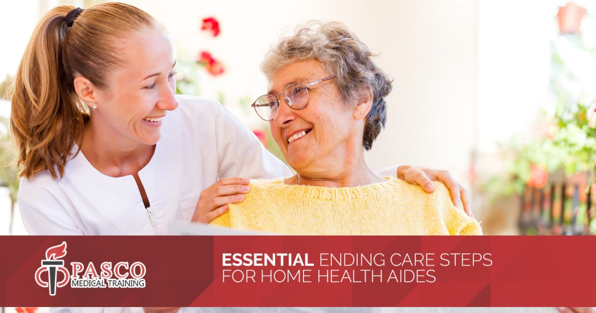 Pasco Home Health Aide Training Essential Ending Care Procedures