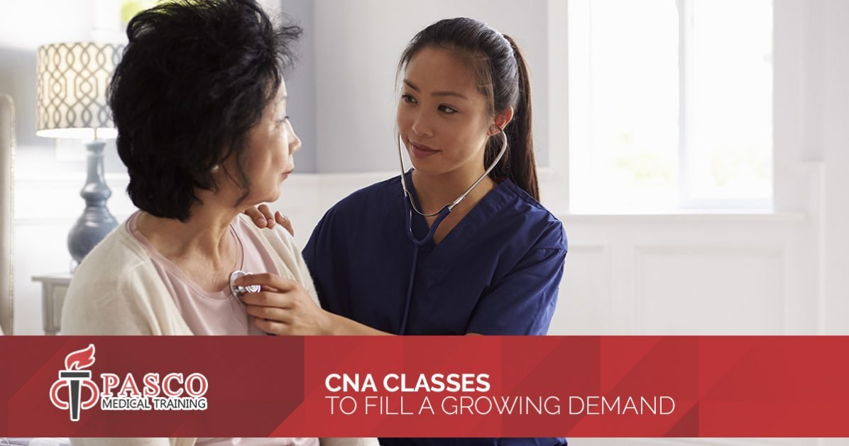 Cna Training Pasco County Addressing The Growing Demand For Cnas In