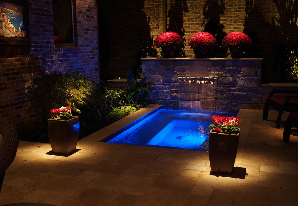 This project included Hadco Focus and Kichler landscape lighting products combined with Lutron RadioRa lighting controls to create a unique and visually ... & Contemporary Lighting Grapevine | Outdoor Lighting TX | LED ...