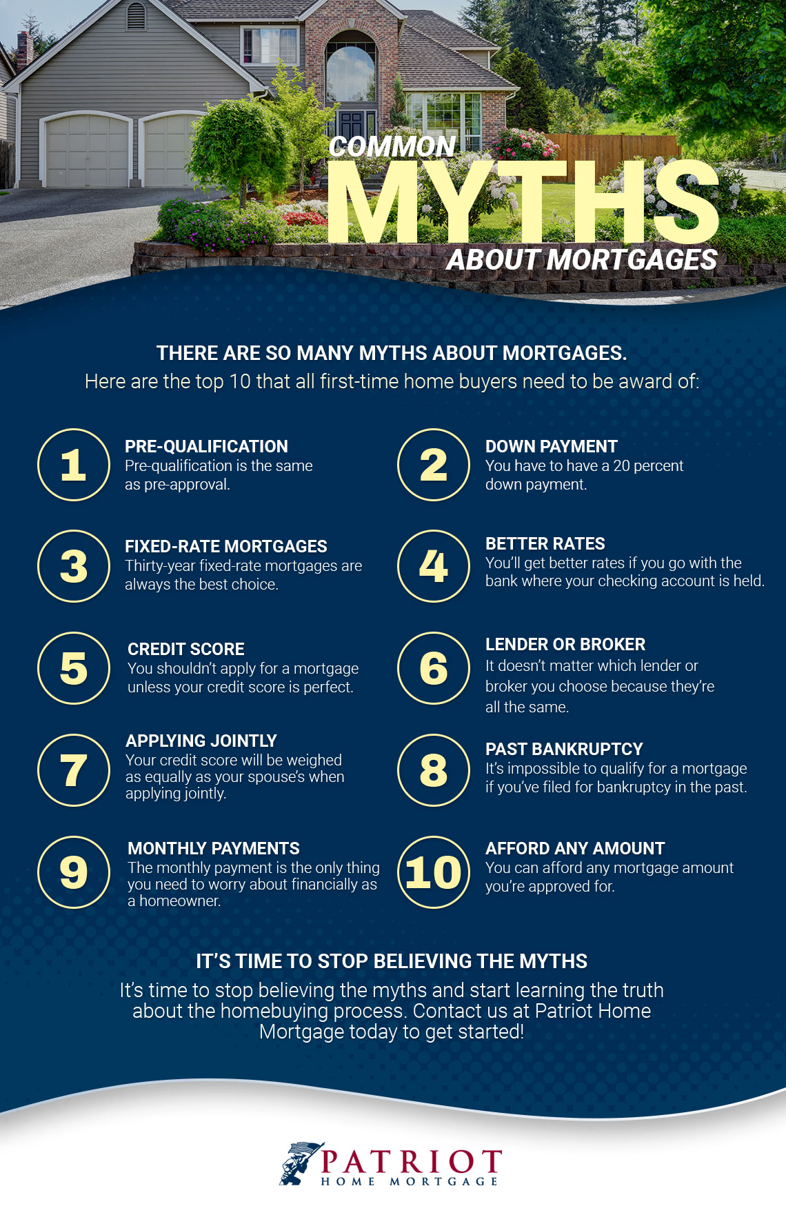 Ten Common Learning Myths That Might Be >> Mortgage Financing Common Myths About Mortgages
