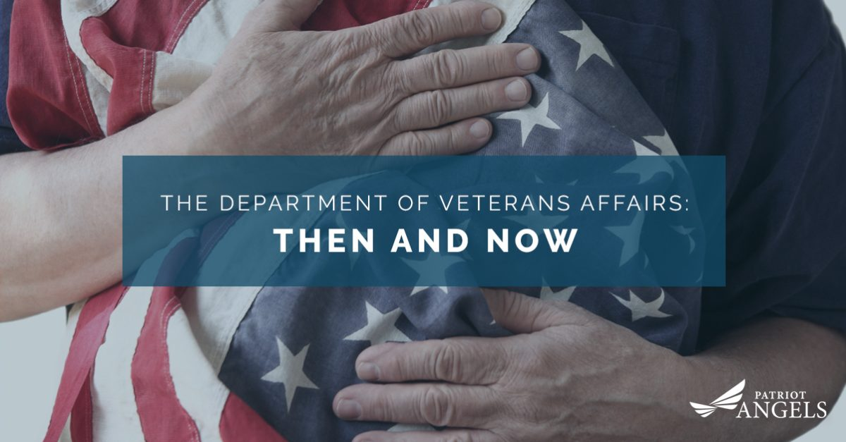 VA Benefits: The Department of Veterans Affairs: Then And Now