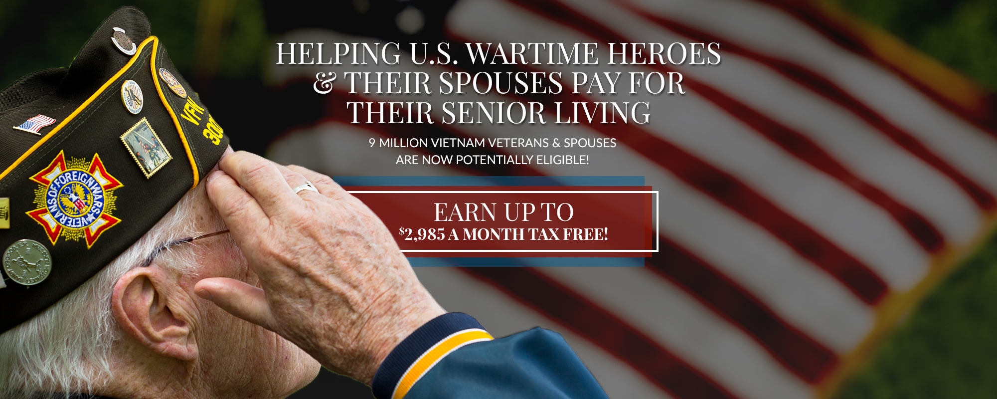 VA Benefits - Get Your Aid And Attendance Pension Today