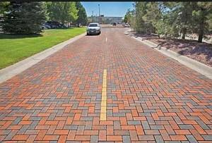 pervious paver street