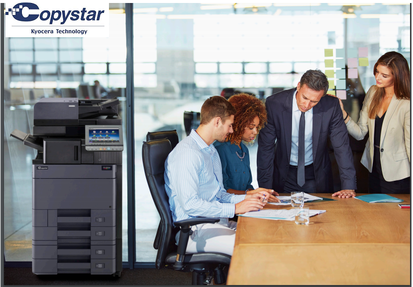Copystar Copier Printer in a business conference room