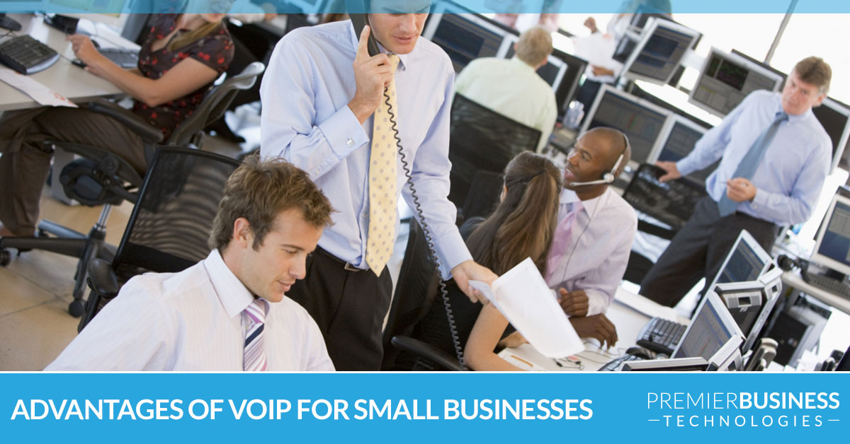 Advantages of VoIP for small businesses