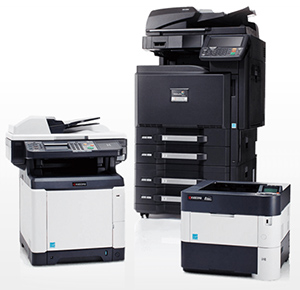 Copier printer equipment that can be leased or rented by businesses