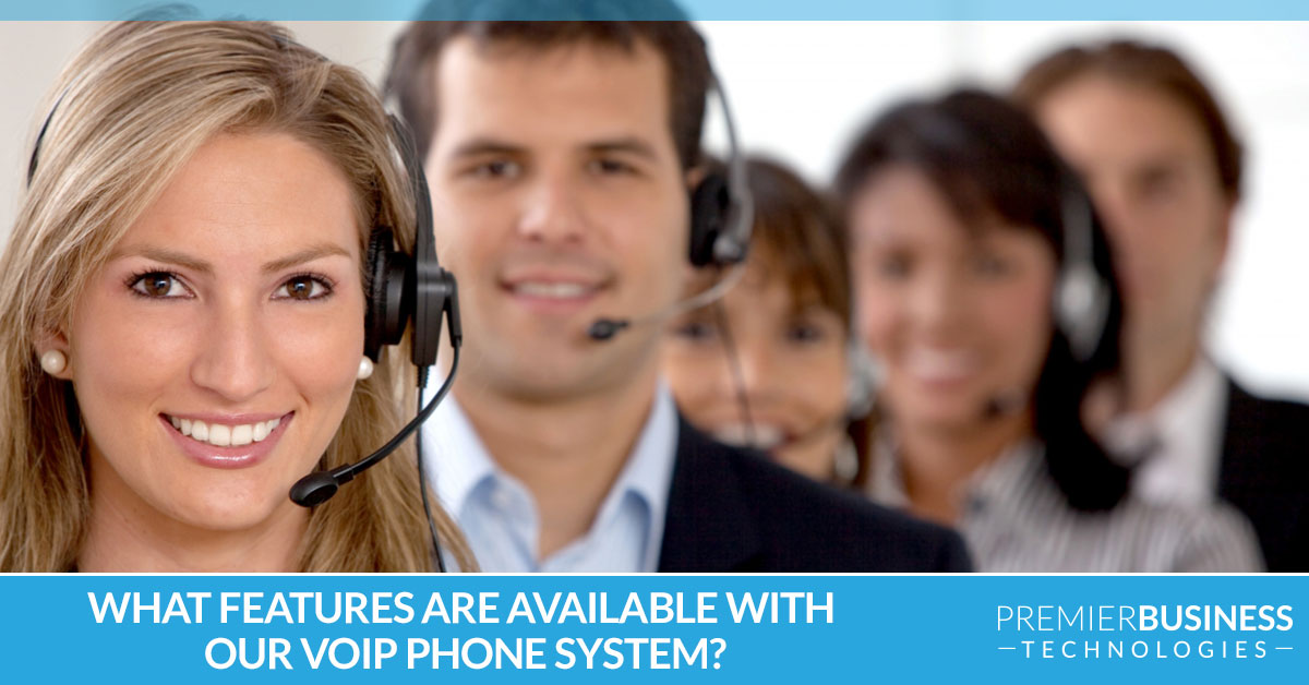 What features are available with our VoIP phone system?