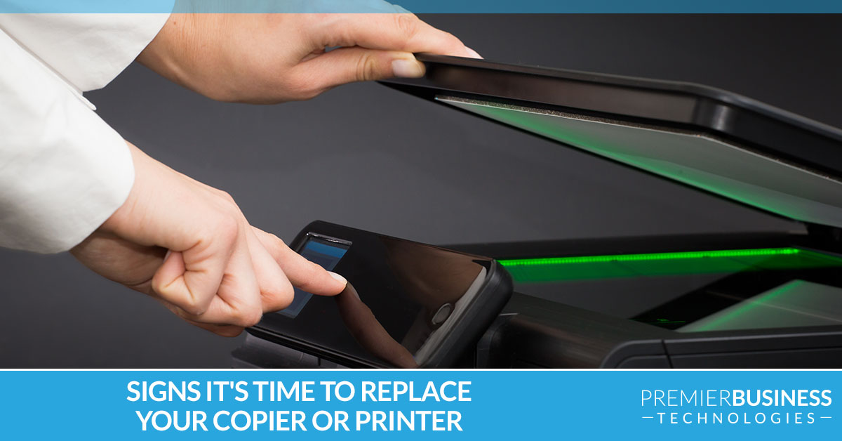 Signs it's time to replace your copier or printer