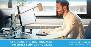 Choosing the best business internet service provider