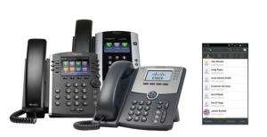 PBX business desk phones
