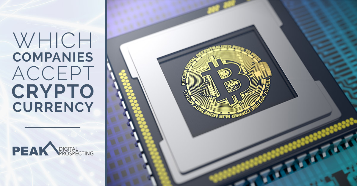 Bitcoin Mining Companies Which Companies Accept Cryptocurrency