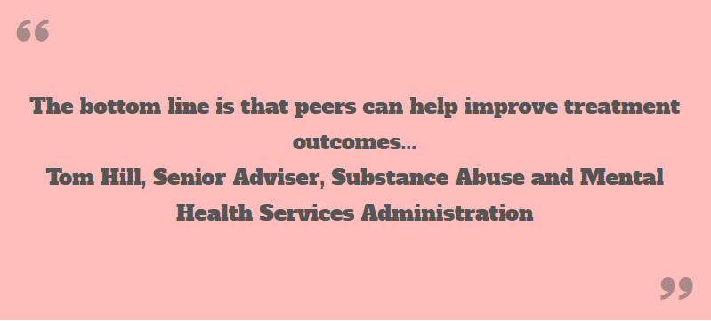 Peer Support quote