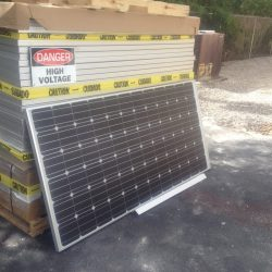 Solar Panels Awaiting Installation