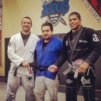 The newest Atos West Phoenix black belt under Andre Galvao teaching classes in Goodyear, Arizona
