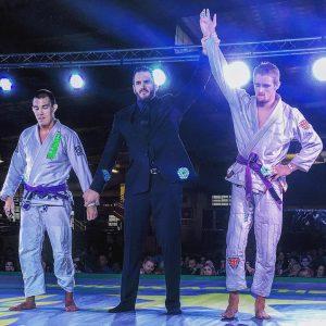 Atos BJJ West Phoenix Coach Korey Kerber wins at Fight 2 Win Pro 12