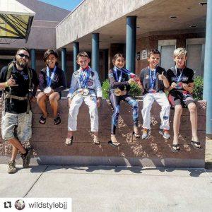 Atos Goodyear BJJ Kids Win at AGF Tournament in Phoenix AZ