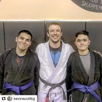 2 New Blue Belts at Atos Goodyear BJJ