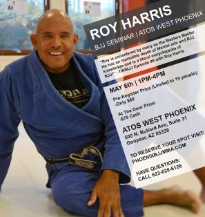 Roy Harris Seminar at Atos West Phoenix in Goodyear, Arizona May 6th