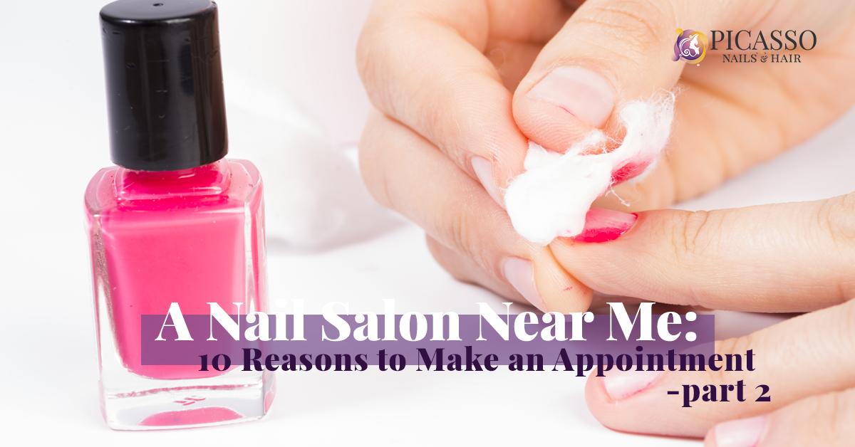 Nail Salon Houston: A Few More Reasons To Get The Mani & Pedi