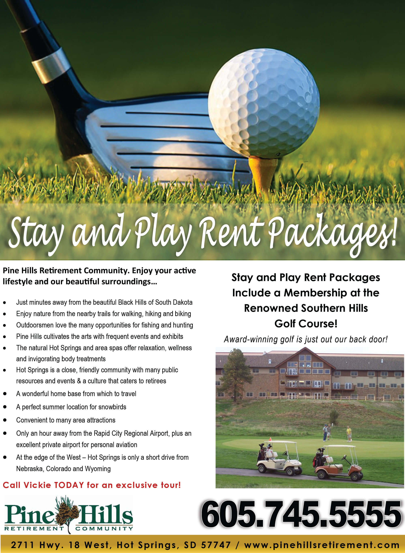 Senior Living Golf - Enjoy Your Retirement, Actively! | Pine