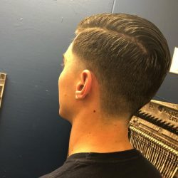 Men's Haircut - Low Fade (Back View) At Pinky's Chop Shop