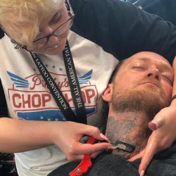 Men's Straight Razor Shave (Neck) At Pinky's Chop Shop