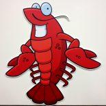 Crawfish-Standee