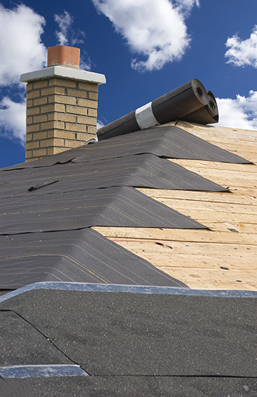 Underlayment used by Denver Roofers Planet Roofing