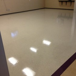 Your facility will look amazing thanks to our floor waxing service. Call today!