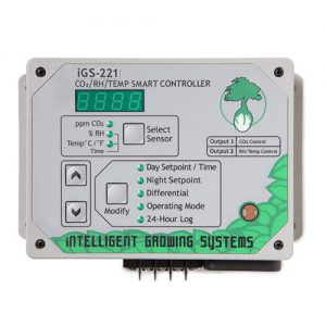 CO2 Monitor Controller - Shut Off High Temperatures With