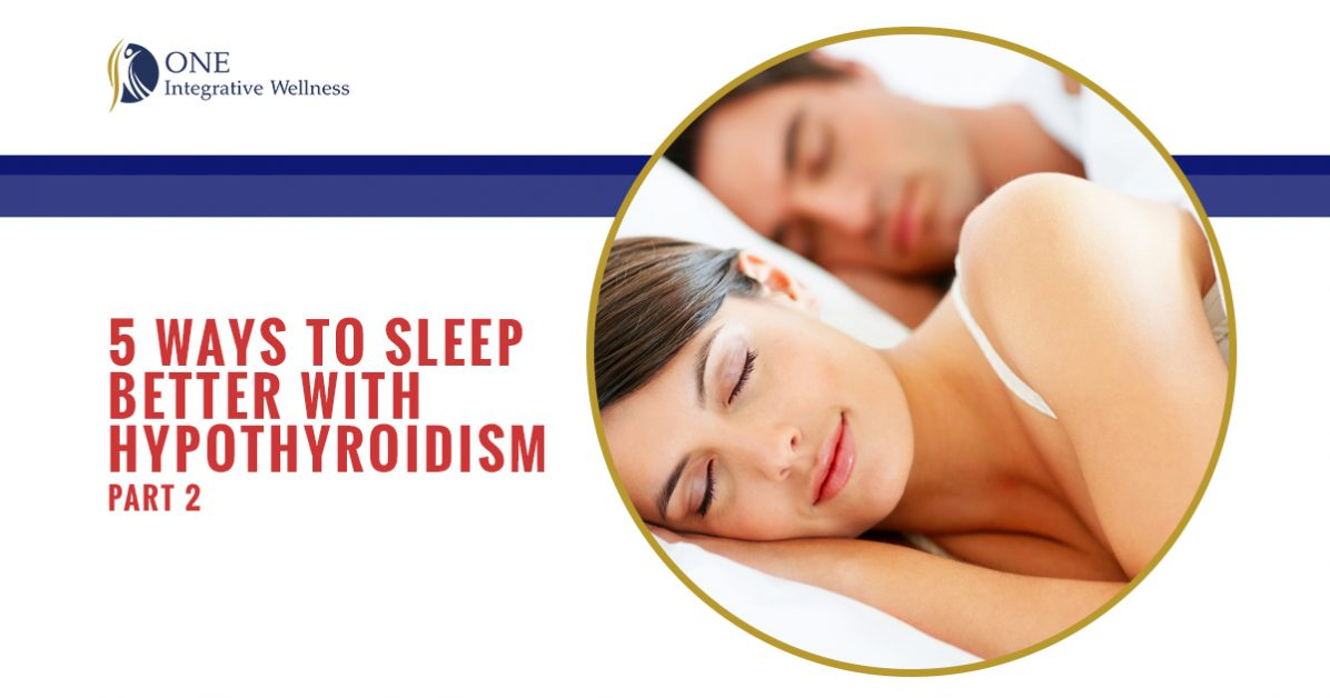 5 ways to sleep better with hypothyroidism 2