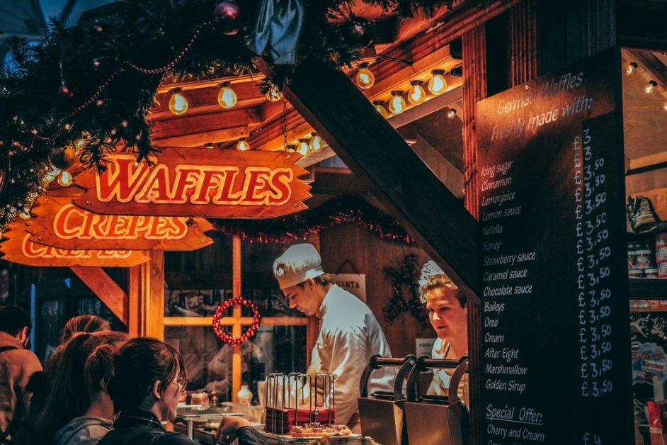 waffles and toxic food market