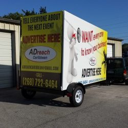 Easy towable advertising from Portaboards