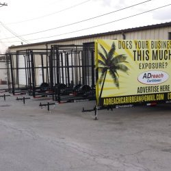 A fleet of 3 sided mobile billboards from Portaboards