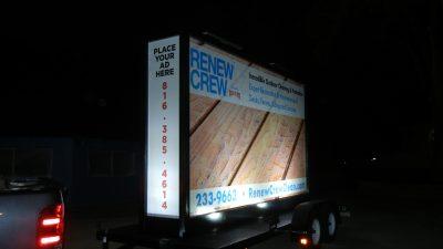 Mobile Billboards Denton: Benefits of a Backlit Billboard