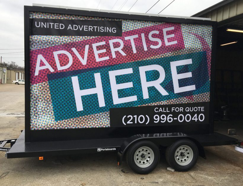 Mobile Billboards Denton: The Best Call to Actions For Your
