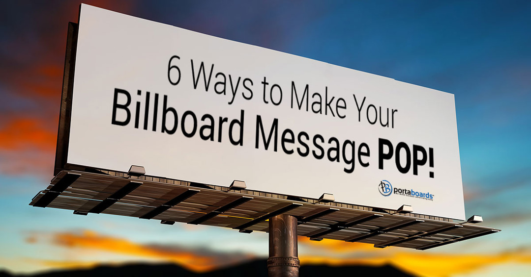 Outdoor Advertising - Read Our Great Tips! | Portaboards