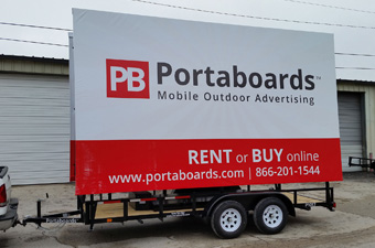 Portaboards - Mobile Billboard And Trailer Advertising