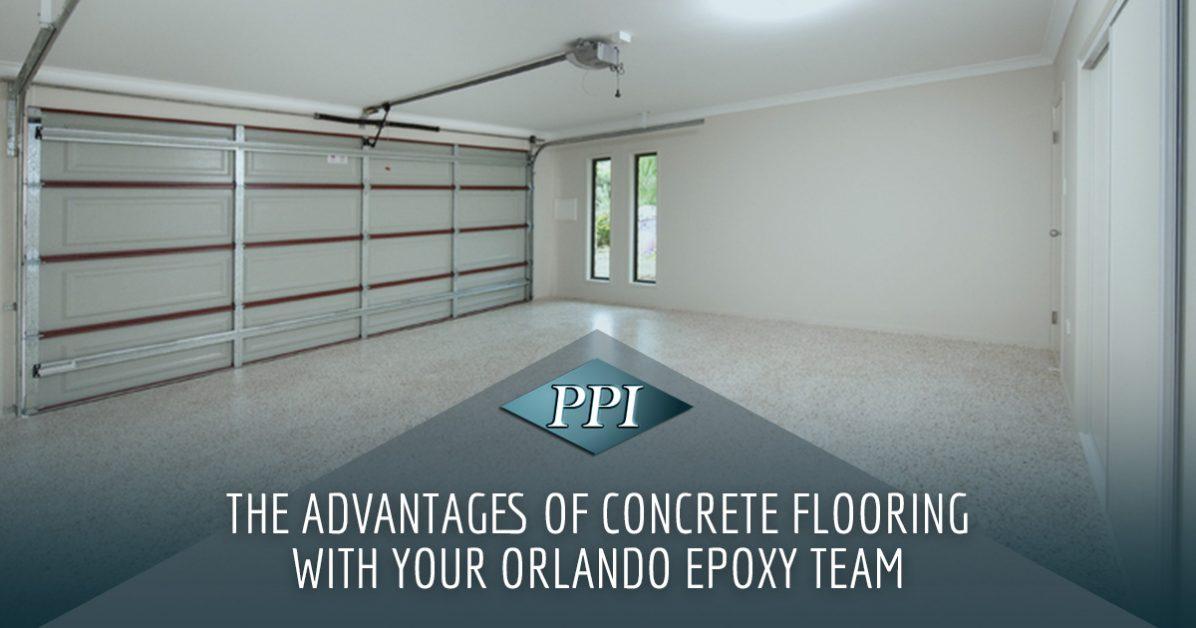 Concrete Flooring Orlando The Advantages Of Commercial Concrete