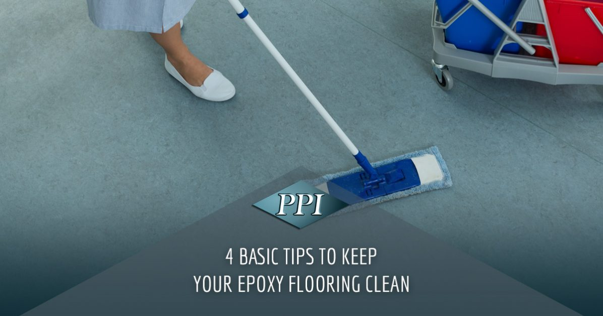 Epoxy Flooring Orlando Our 4 Tips To Keep Your Epoxy Flooring Clean