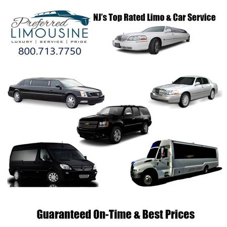 Preferred Limousine Vehicles