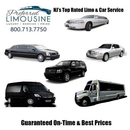 Preferred Limousine Vehicles