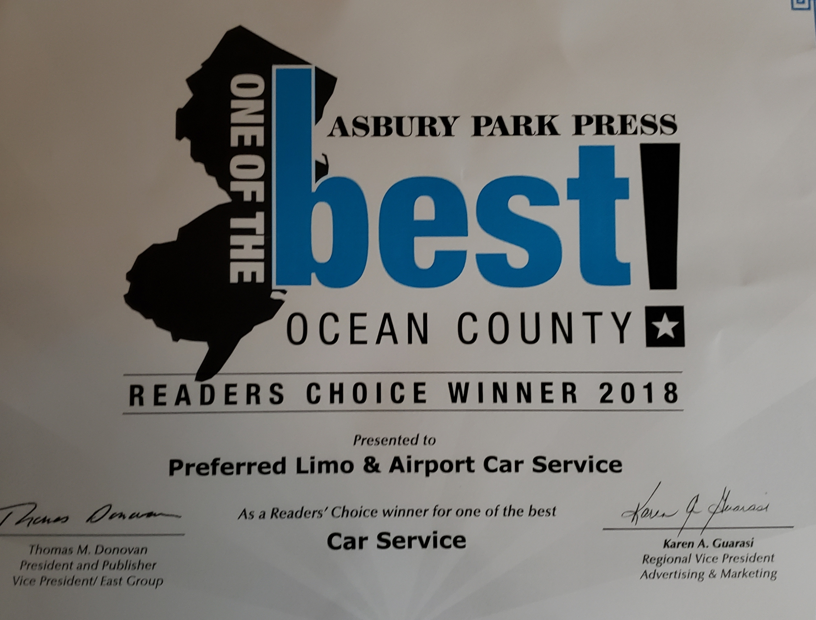 Ocean County NJ Best of the Best