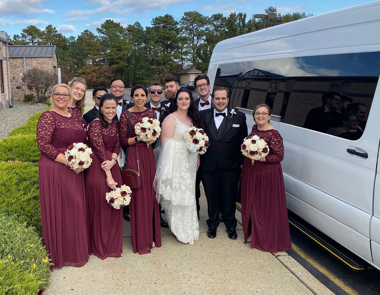 Limo for Wedding Monmouth County NJ
