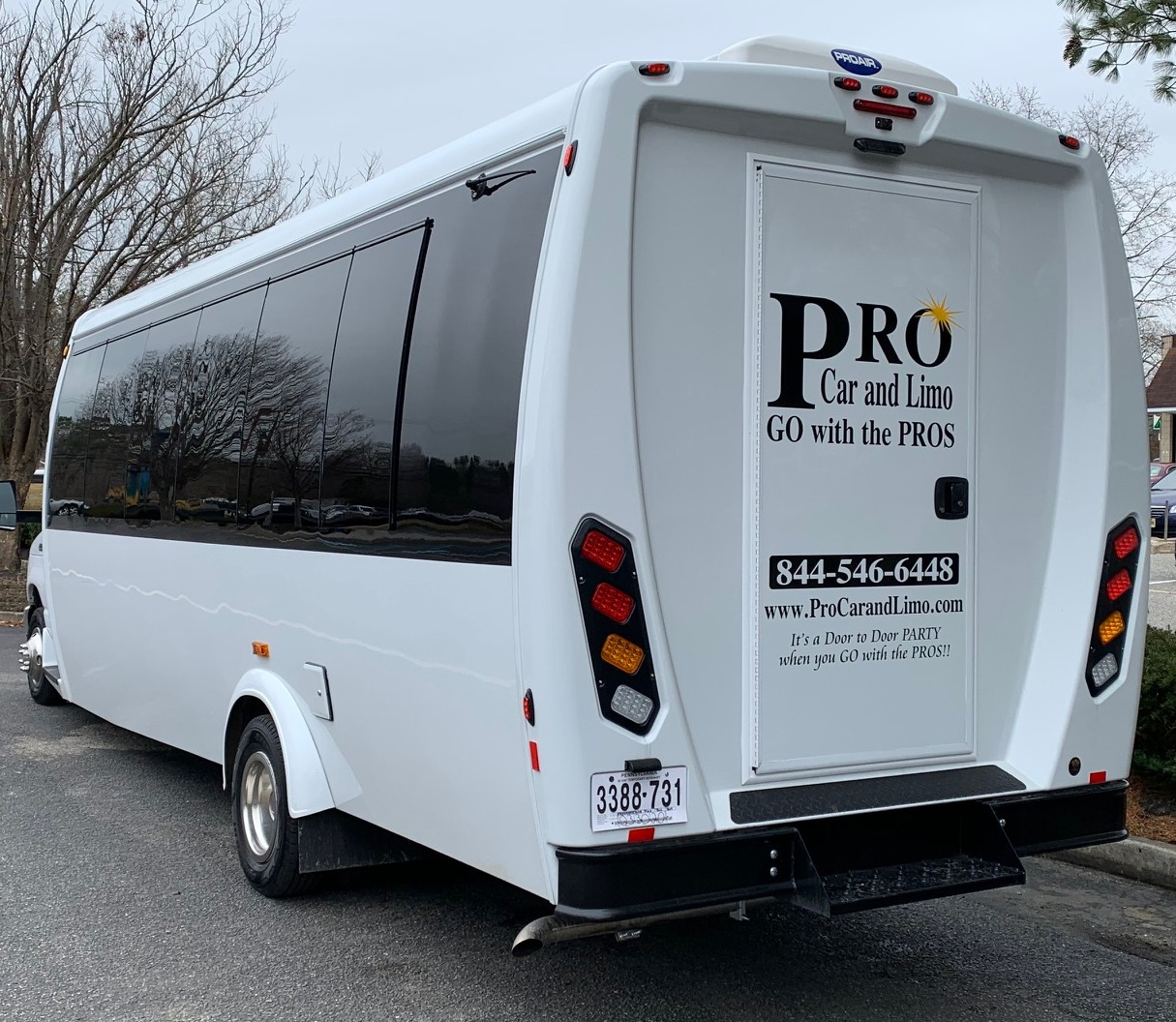 WINE TOUR limo bus