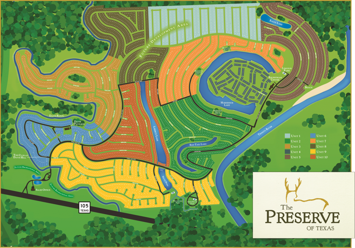Site map of our pristine properties and dream homes!