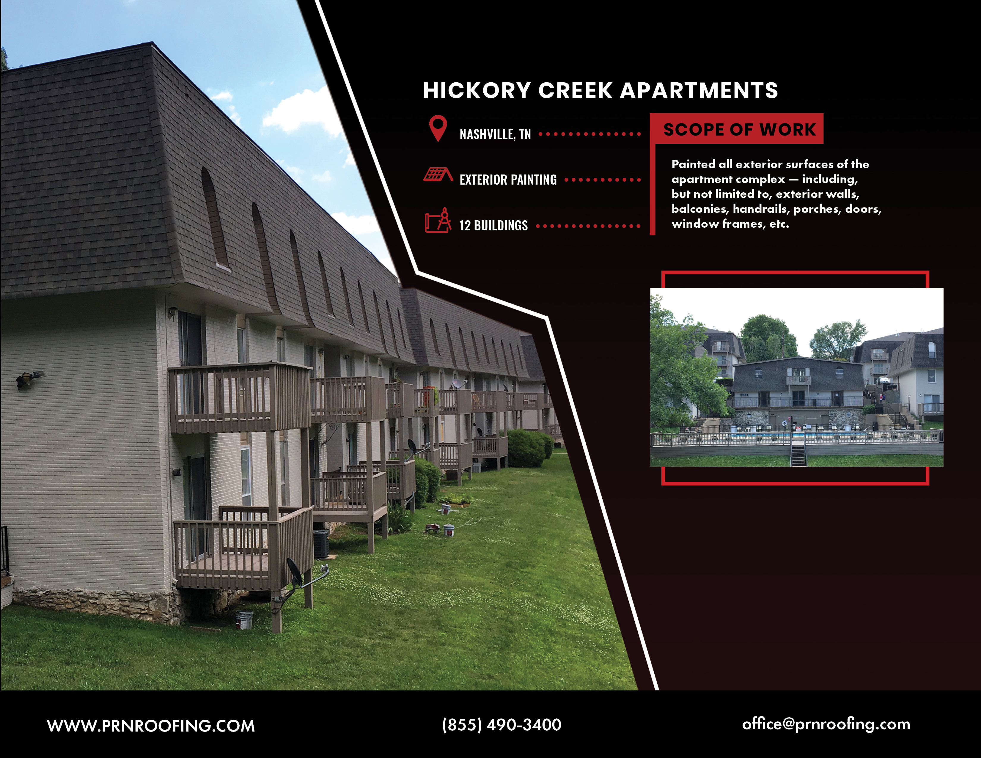 Projects Work From Our Expert Roofers Prn Roofing